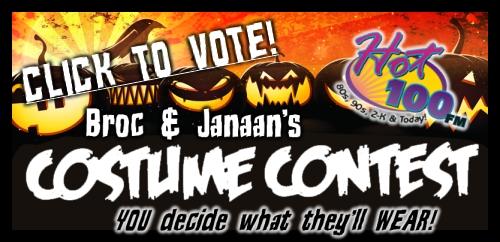 Broc & Janaan's Costume Contest